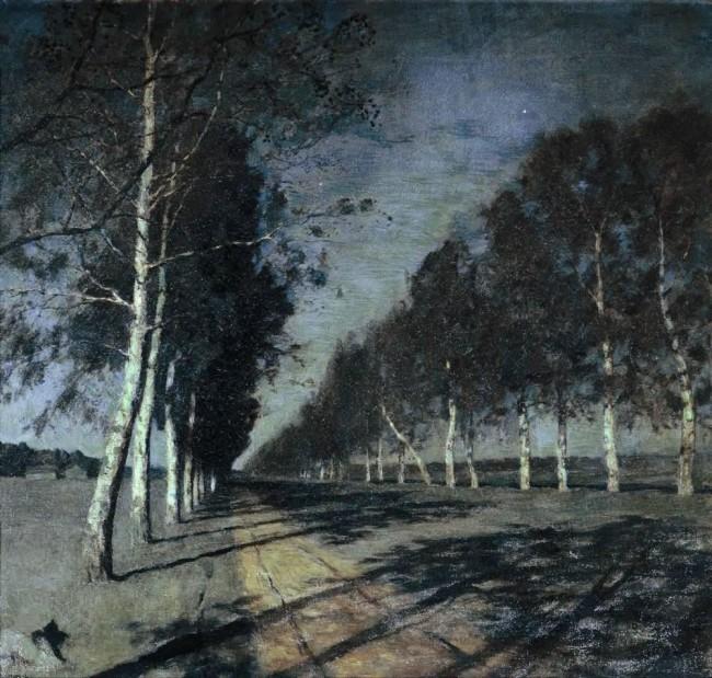 И. И. Левитан «Лунная ночь» - описание картины
