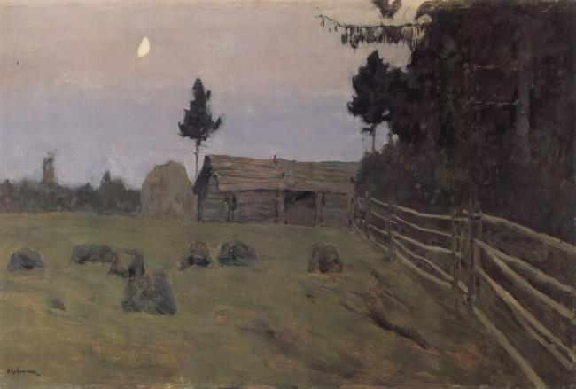 И. И. Левитан «Сумерки» - описание картины