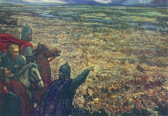 """Сочинение по картине: Глазунов - """"Засадный полк"""""""