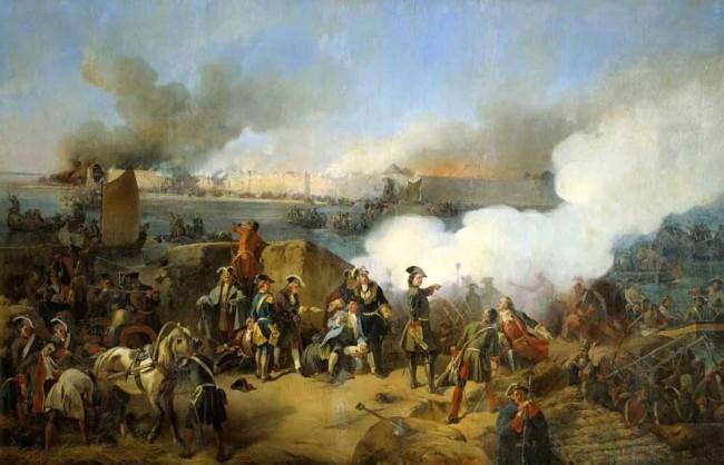 """Сочинение по картине: Коцебу - """"Штурм крепости Нотебург 11 октября 1702 года"""""""