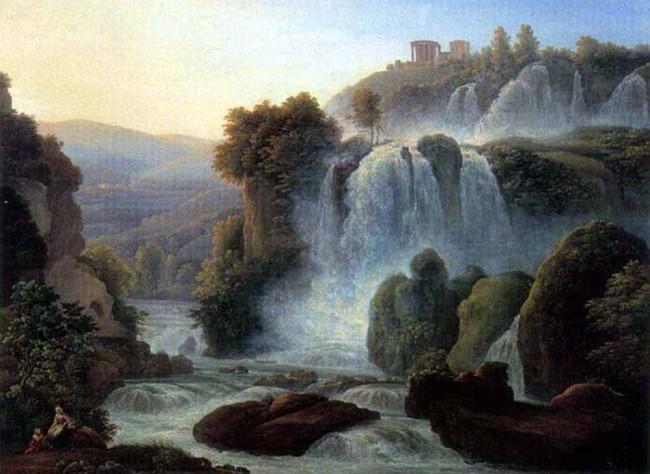 "Сочинение по картине: Матвеев - ""Каскад близ Рима"""