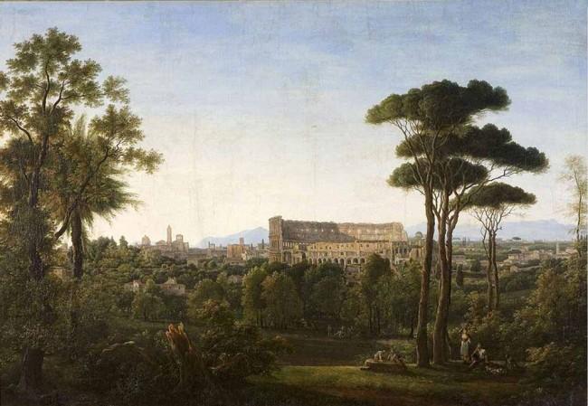 """Сочинение по картине: Матвеев - """"Вид Рима. Колизей"""""""