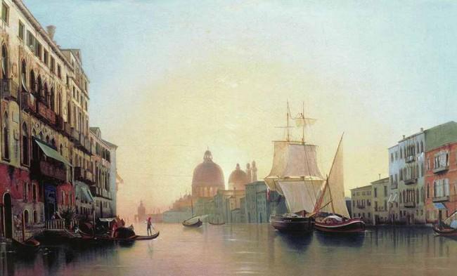 """Сочинение по картине: Мордвинов - """"Утро в Венеции"""""""