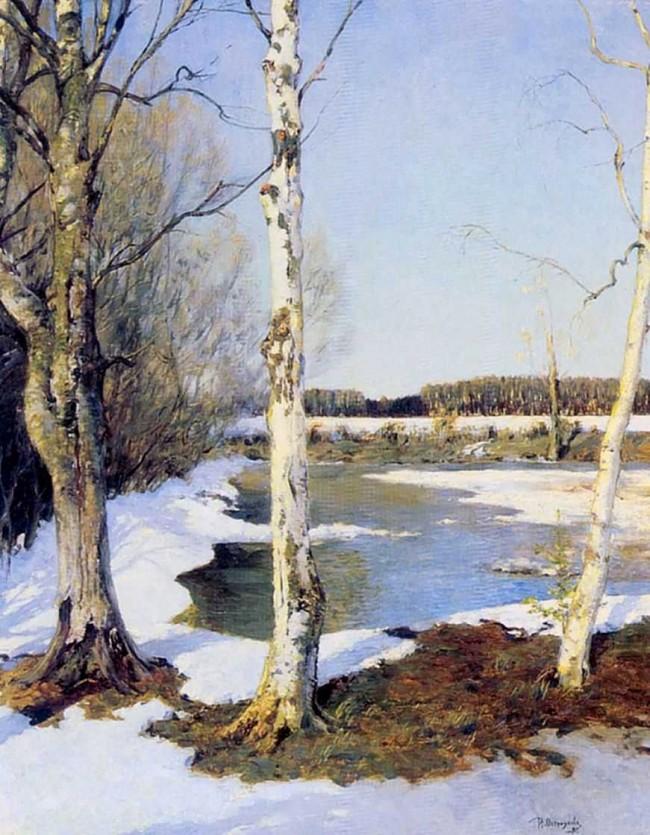 "Сочинение по картине: Остроухов - ""Ранняя весна"""