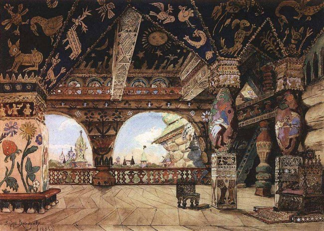 """Сочинение по картине: Васнецов - """"Палаты царя Берендея"""""""