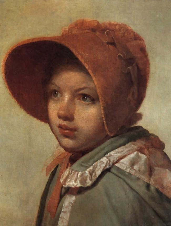 """Сочинение по картине: Венецианов - """"Портрет А.А.Венециановой, дочери художника"""""""