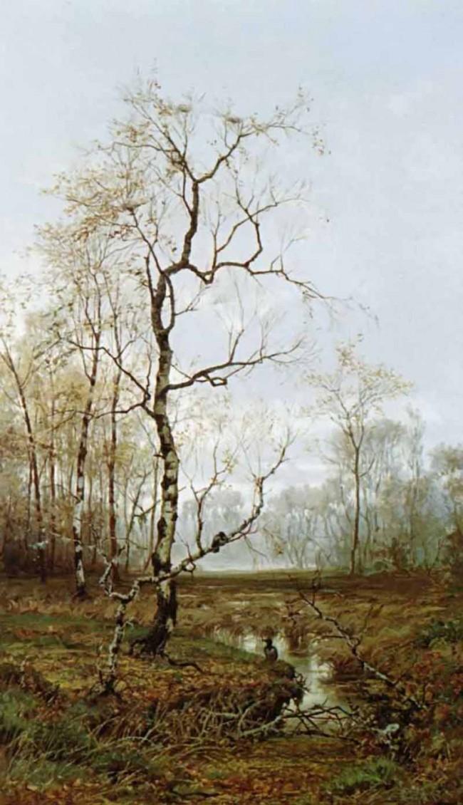 """Сочинение по картине: Волков - """"В лесу. По весне"""""""