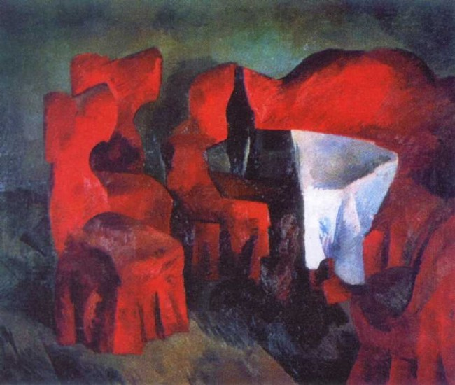 """Сочинение по картине: Фальк - """"Красная мебель"""""""