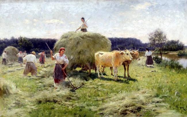 "Сочинение по картине: Пимоненко - ""Сенокос"""