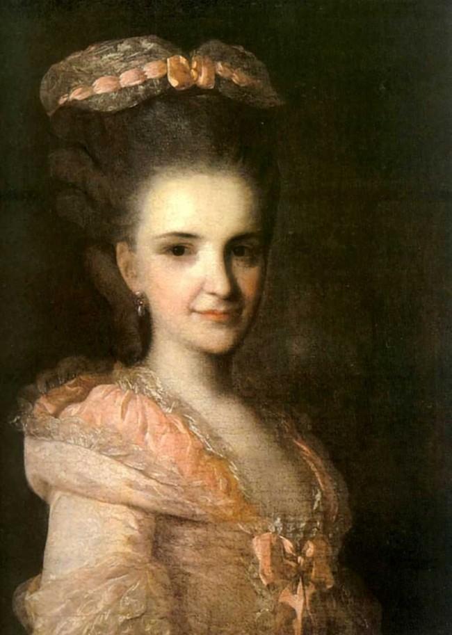 """Сочинение по картине: Рокотов - """"Портрет неизвестной в розовом платье"""""""