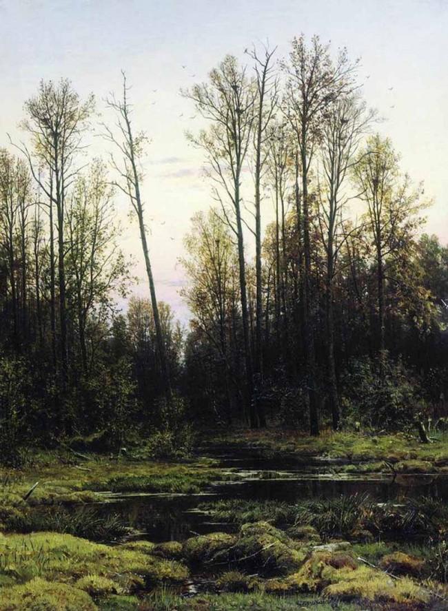Сочинение по картине шишкин — лес