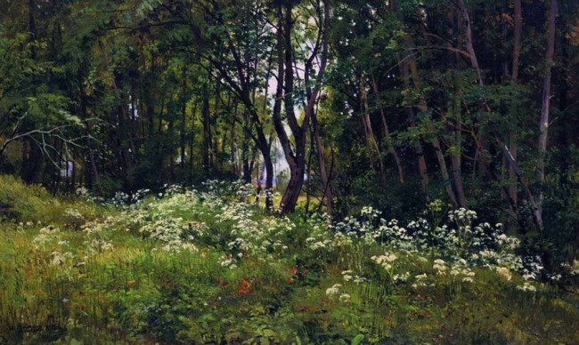 """Сочинение по картине: Шишкин - """"Цветы на опушке леса"""""""