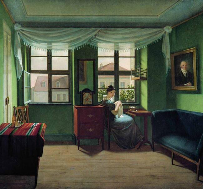 """Сочинение по картине: Толстой - """"В комнате за шитьем"""""""