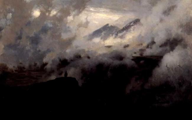"""Сочинение по картине: Ярошенко - """"Эльбрус в облаках"""""""