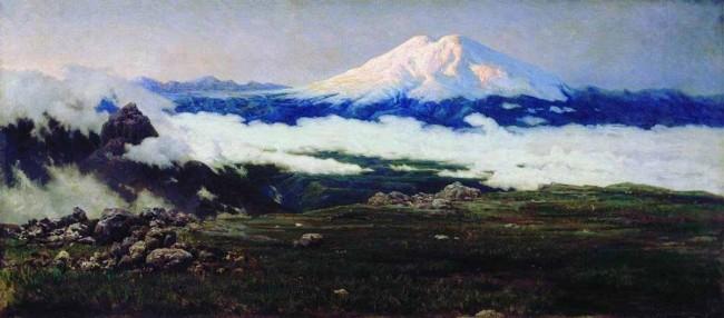 """Сочинение по картине: Ярошенко - """"Шат-гора (Эльбрус)"""""""